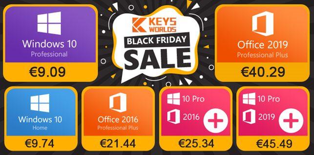Black Friday KeysWorlds.com